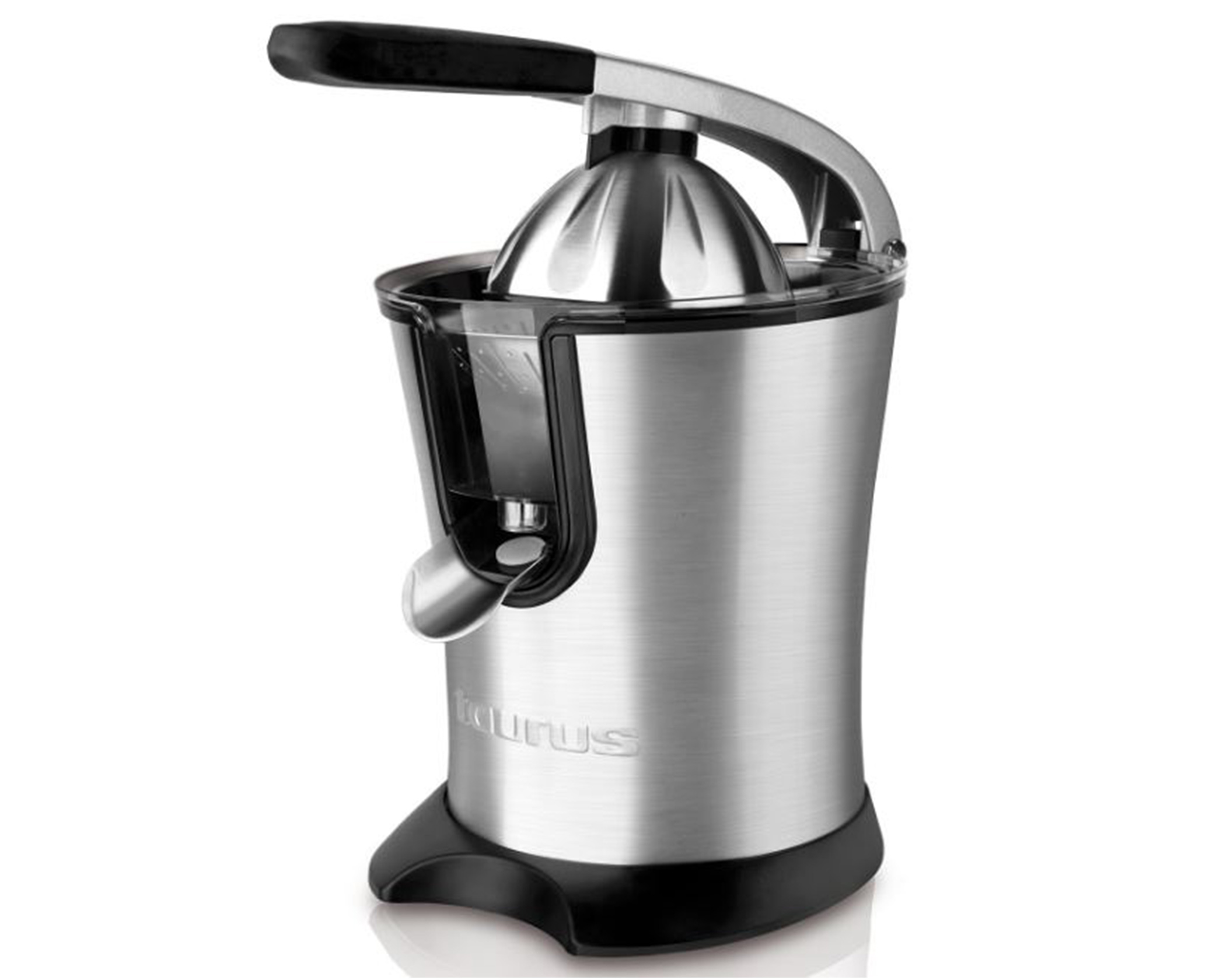 Citrus Juicer Product ~ Taurus citrus juicer stainless steel brushed w quot