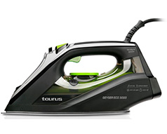 "Taurus Iron Steam / Dry / Spray Anodized Black 330ml 3000W ""Geyser Eco 3000"""