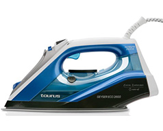 "Taurus Iron Steam / Dry / Spray Titanium Blue 330ml 2800W ""Geyser Eco 2800"""