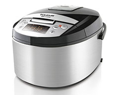 "Taurus Multi Cooker Stainless Steel Black 5L 860W ""Top Cuisine"""