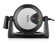 "Taurus Waffle Maker Rotating Black Variable Heat Settings 1000W ""G594"""
