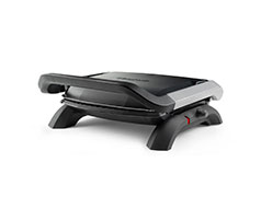 Taurus Panini Press With Cool Touch Handles Non-Stick Black 31.5X24cm 1800W 'Grill & Co""
