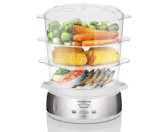 9L Digital Food Steamer 3 Tier